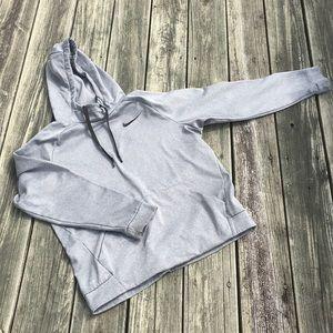Black and Grey Nike Dry Fit Hoodie